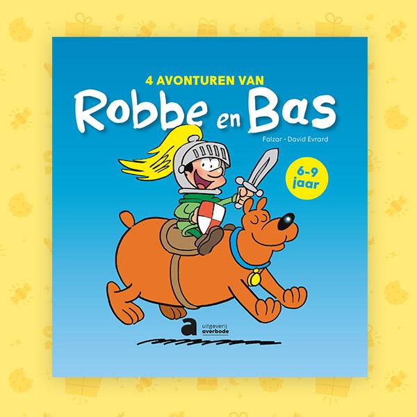 4 avonturen van Robbe en Bas
